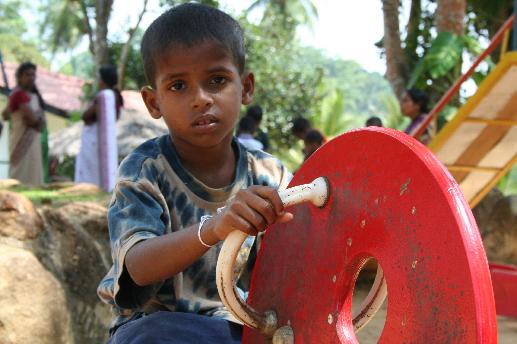 foto homepage Weeshuis Sri Lanka